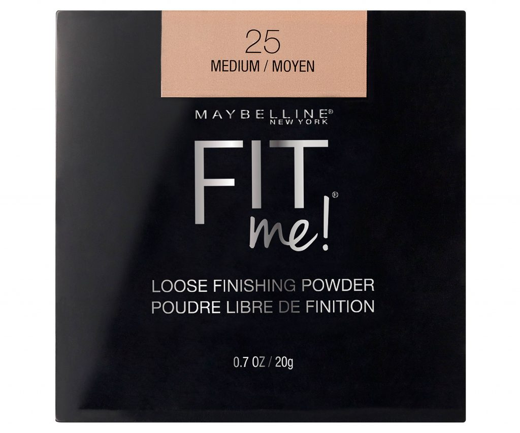 affordable makeup for beginners - Maybelline - Fit me! loose finishing powder
