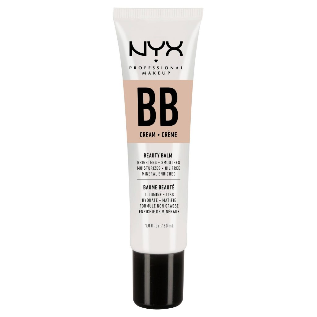 affordable makeup for beginners - nyx bb cream