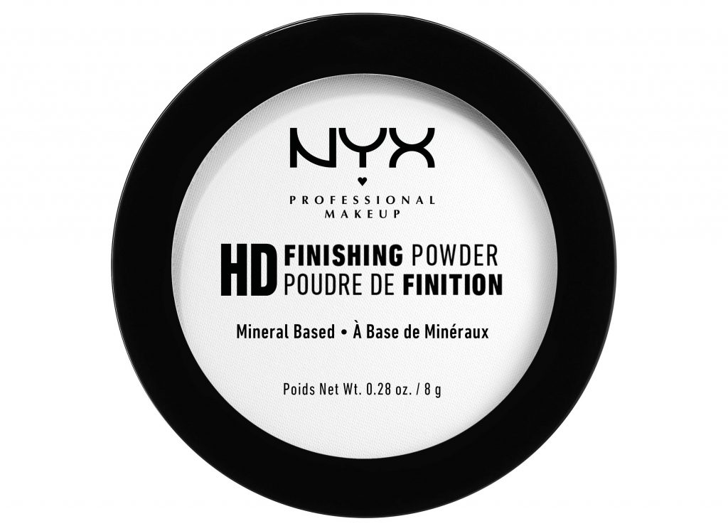 affordable makeup for beginners - NYX - HD finishing powder