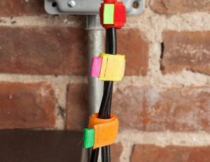 Kikkerland Color Cable Ties