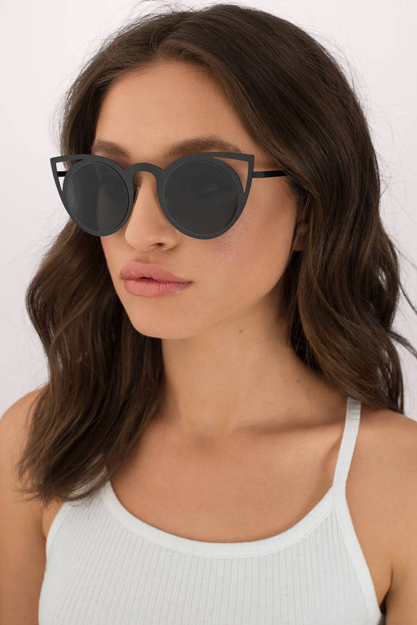 tobi.com levi laser cut cat eye sunglasses