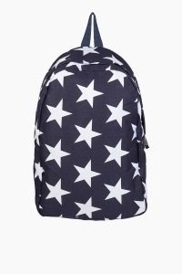 tobi.com - navy and white star backpack
