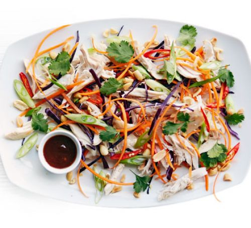 asian-pulled-chicken-salad