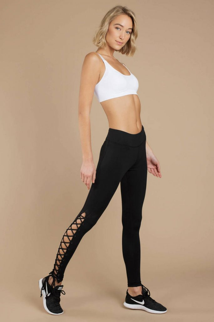 tobi.com - break free lace up leggings