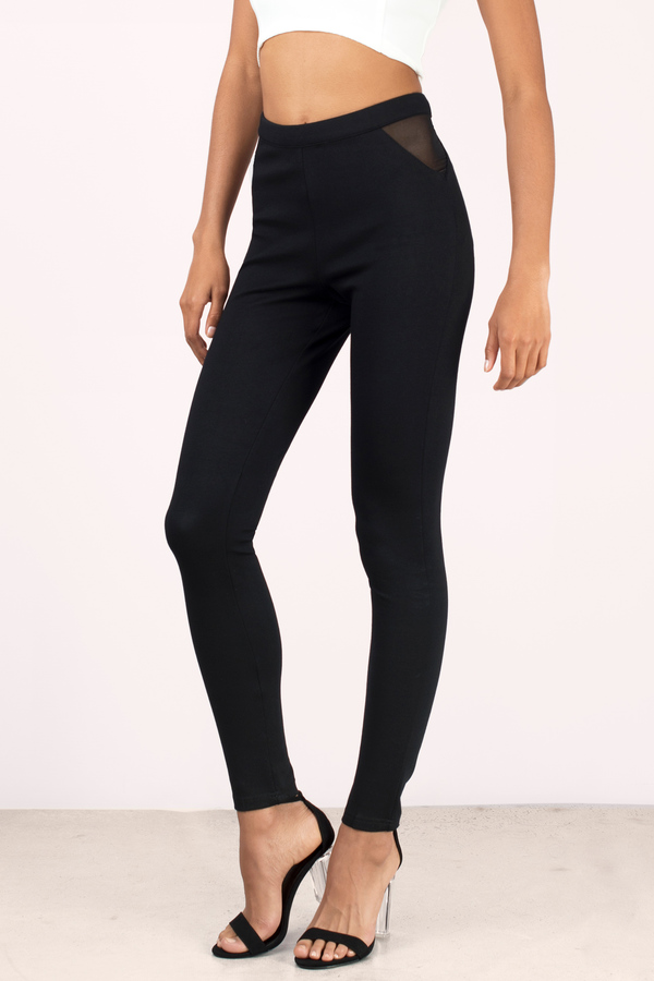 black-anjali-mesh-pants