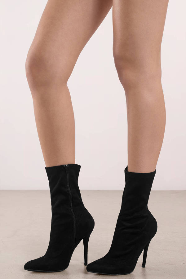 black-bonnie-suede-pointed-toe-heeled-booties