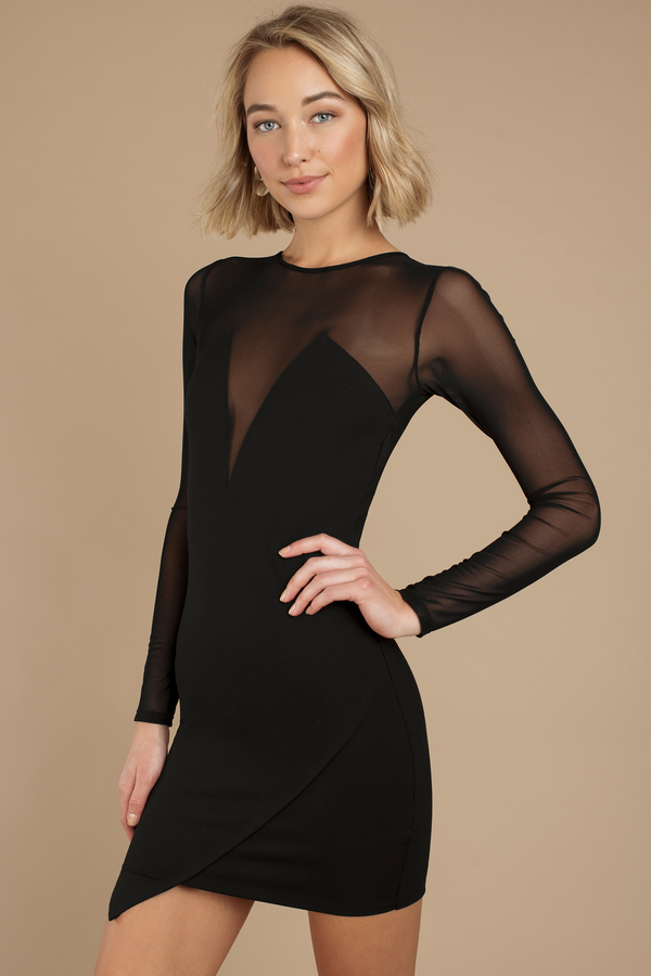 black-bowie-mesh-bodycon-dress