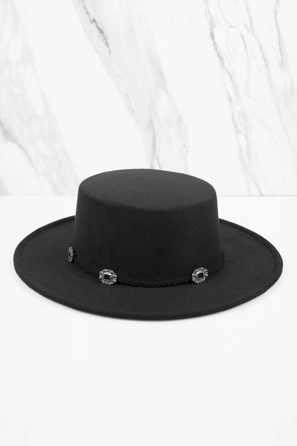 Tobi.com - Black Meet Me in the Sky Panama Hat