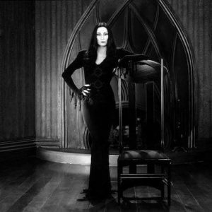 Morticia Addams in The Addams Family Reboot