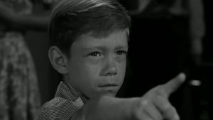 "twilight zone still from ""it's a good life"" episode"