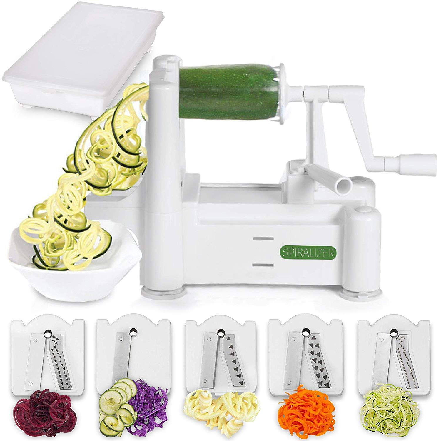 ultimate holiday gift guide vegetable spiralizer