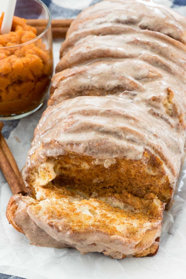 easy pumpkin pull apart bread recipe
