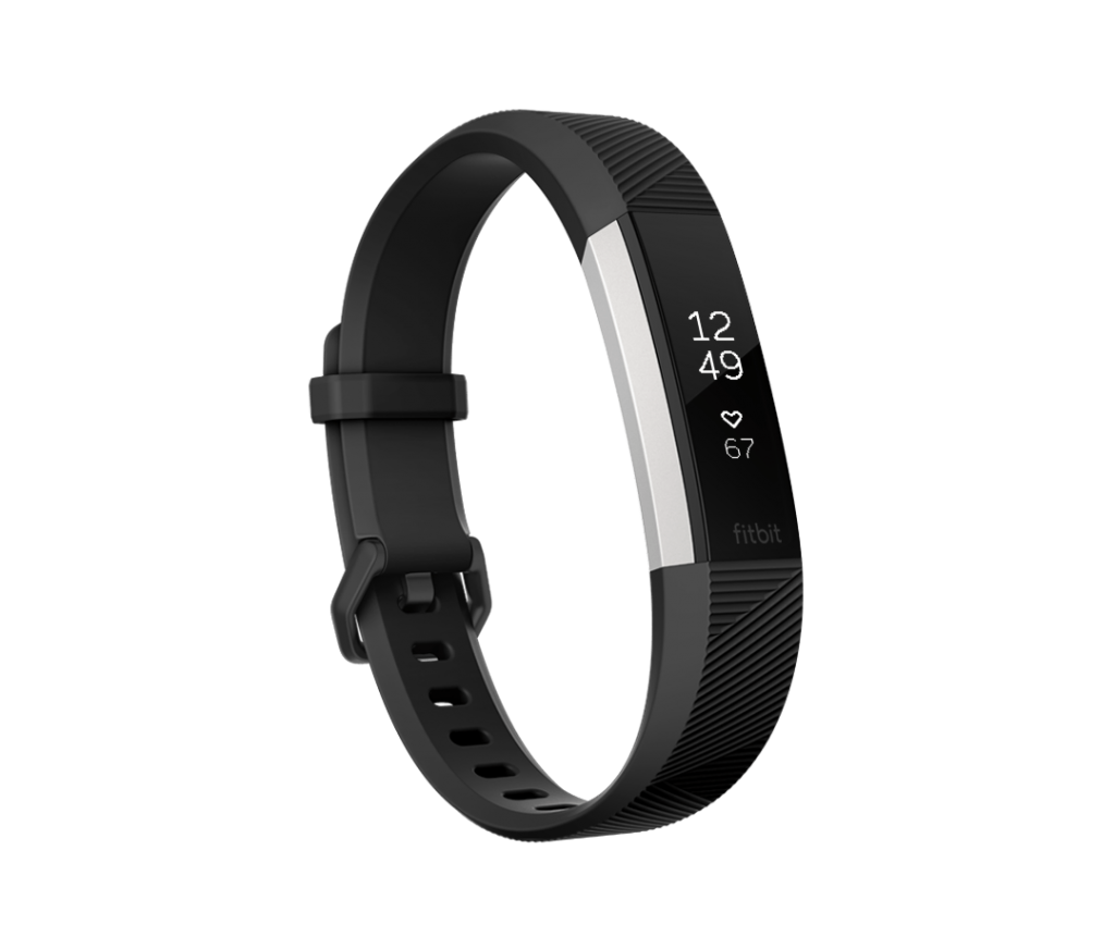 fitbit alta hr in black