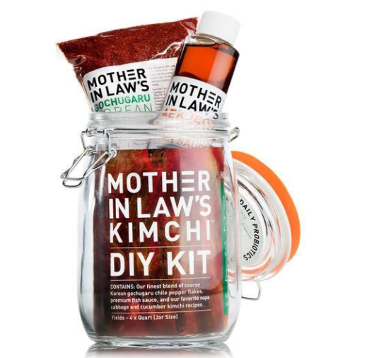 gift ideas: mother in law's kimchi diy kit