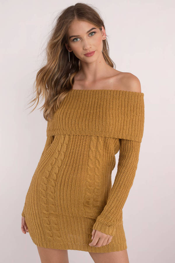 tobi-mustard-natasha-off-shoulder-sweater-dress