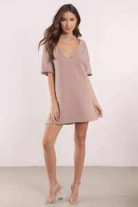 tobi.com mine forever plunging tee dress