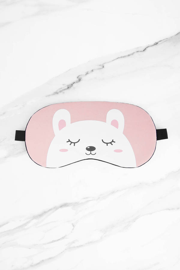pink-bear-necessities-sleep-mask