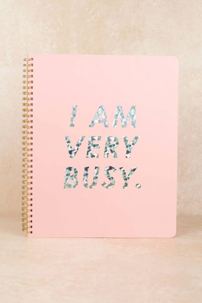 tobi.com - ban.do i am very busy planner