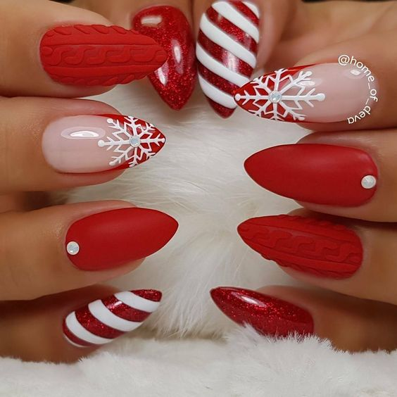 Winter & Holiday Nail Ideas You MUST try this season | Tobi Blog