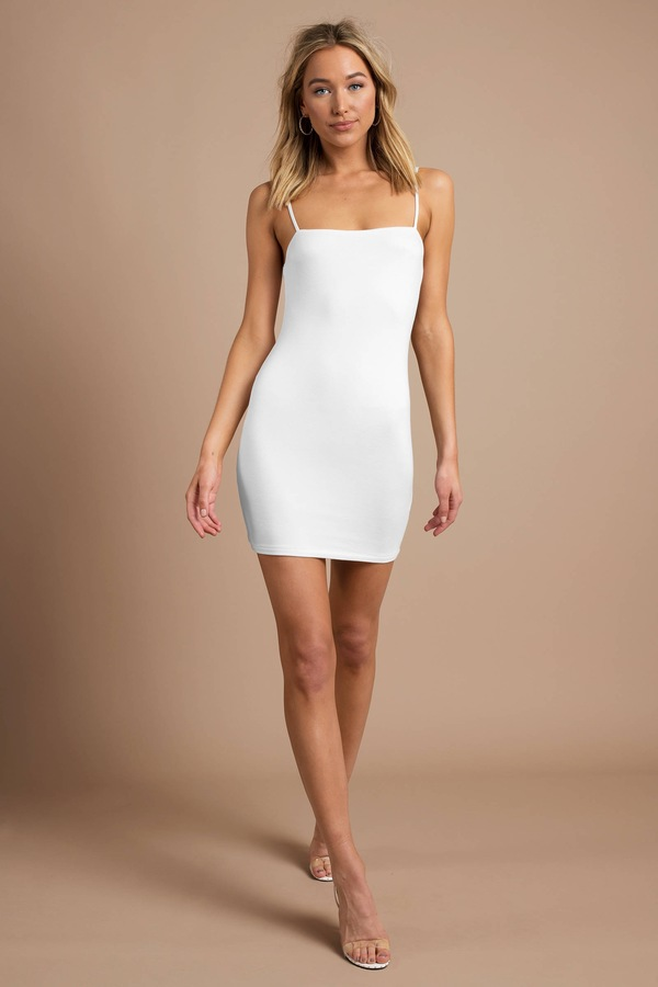 white-abigale-mini-bodycon-dress