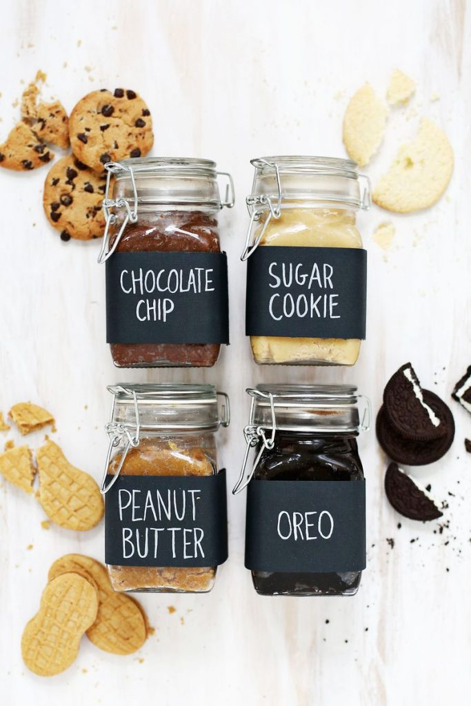 diy holiday gifts: homemade cookie butter