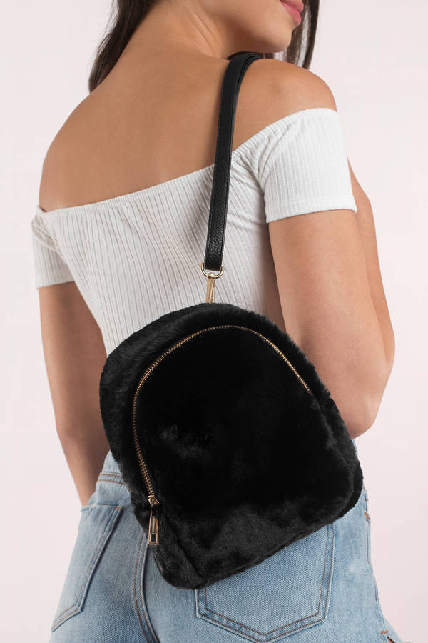 black-fuzzy-feels-backpack