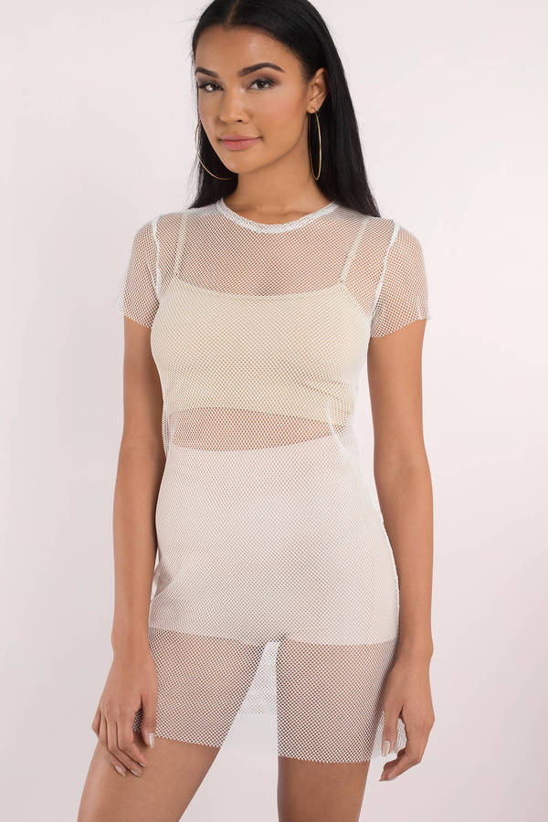 tobi.com - i mesh you shift dress
