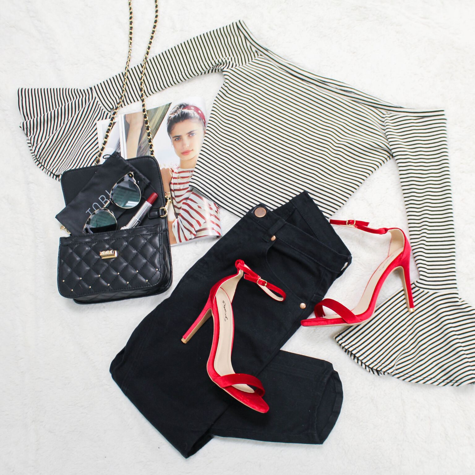 Shop Valentine's Day outfits for going out and about at Tobi!