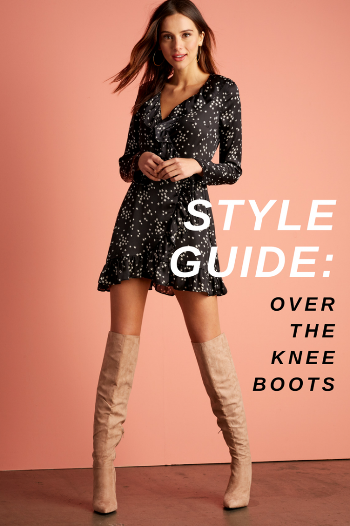 style guide over the knee boots