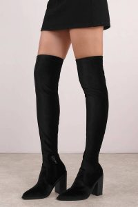 Shop the Sol Sana Natalie Black Knee High Boots