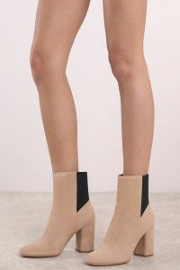 Shop the Dolce Vita Ramona Blush Suede Booties