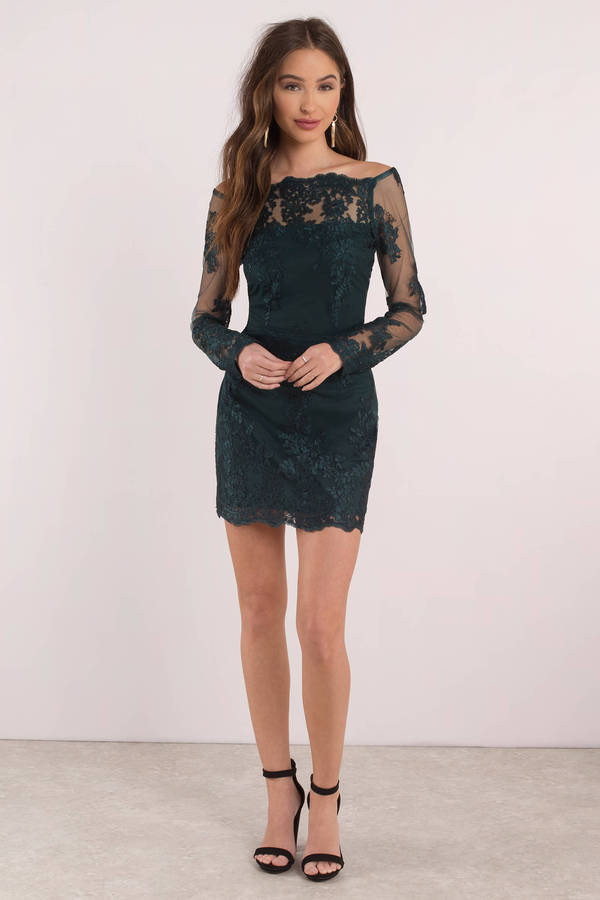 tobi-emerald-sadie-lace-bodycon-dress