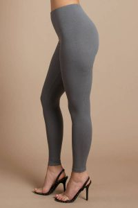 tobi.com - grey west chicago ribbed leggings