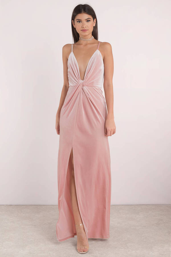 tobi-rose-layla-velvet-plunging-maxi-dress