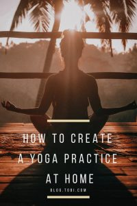 how to start home yoga practice