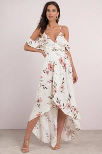 Shop the Sunset Multi Floral Print Maxi Dress at tobi.com!