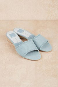 Shop the DOLCE VITA ADALEA LIGHT WASH DENIM SLIP ON SANDALS at tobi.com!