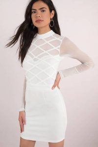 tobi.com - know better mesh bodycon dress