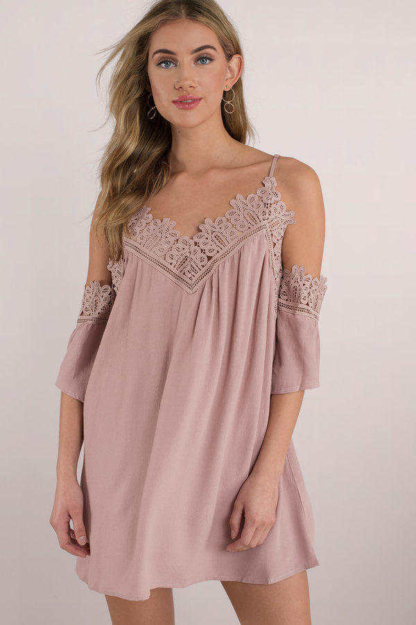 everlasting lace swing dress