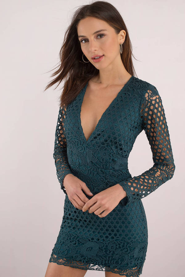 green-emily-lace-bodycon-dress