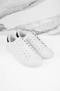 CASEY WHITE LOW TOP SNEAKERS at tobi.com!