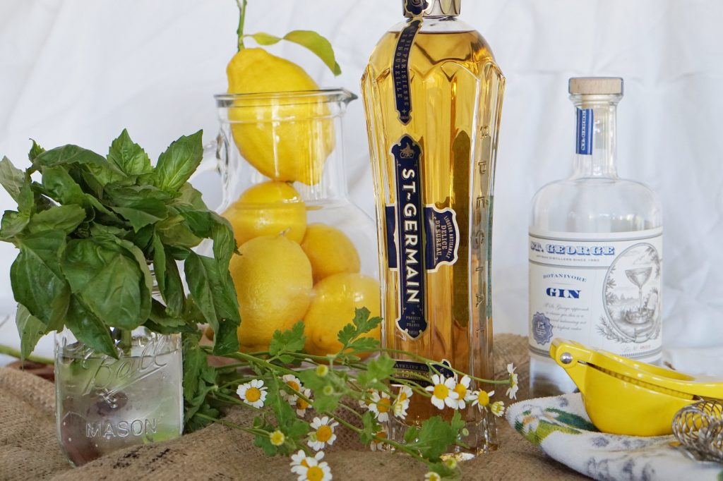 elderflower cocktail recipe