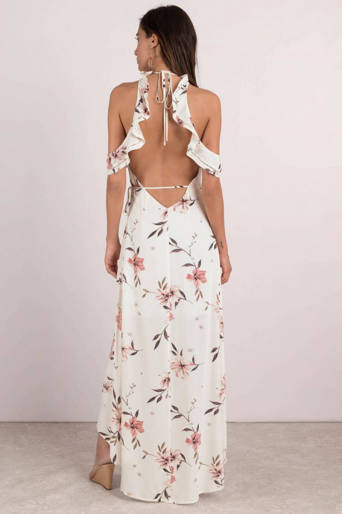 tobi.com - sunset floral maxi dress