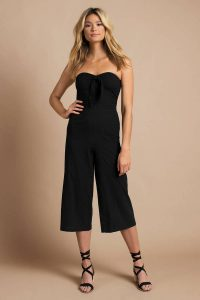 MINKPINK SAY IT RIGHT BLACK STRAPLESS JUMPSUIT at tobi.com!
