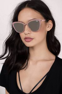 tobi.com - quay super girl mirror sunglasses