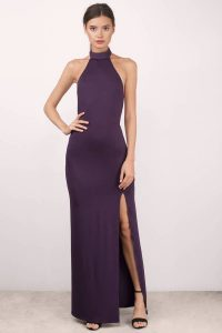 SAYGE PLUM MAXI DRESS at tobi.com!