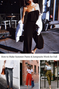 fall outfit ideas jumpsuits and pants you can wear all year long