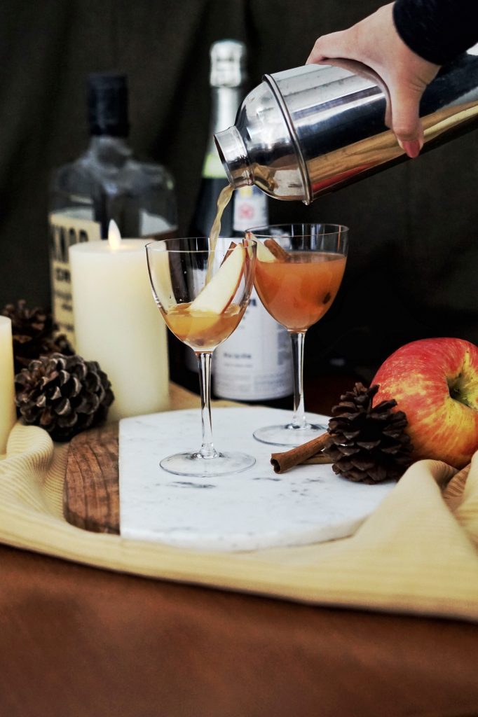 Spiced Apple Bourbon Cocktail Recipe to Amp up Your Fall Vibes
